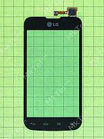 Сенсор LG Optimus L5 II Dual E455 Оригинал элем. Черный
