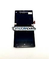Оригинальный  Дисплей (Модуль) + Сенсор (Тачскрин) для HTC Windows Phone 8s | A620e (Черный)