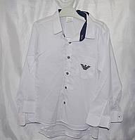 Рубашка для мальчика в школу 9-12 лет