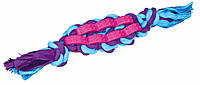 Игрушка Trixie Twisted Stick для собак резиновая, с канатом, 4х22 см, фото 1