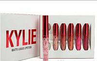 Kylie Matte Lipstick| Valentine's Edition - набор из 6 помад.