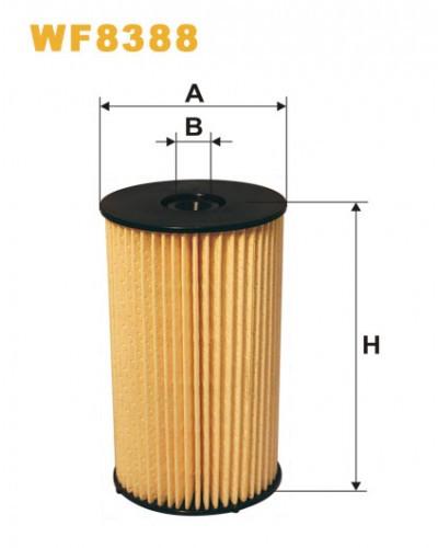 Топливный фильтр Wix WF 8388 (PE 973/3) Caddy, Touran, Tiguan, Jetta, Polo