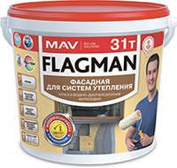 Краска FLAGMAN 31т фасадная для систем утепления
