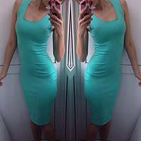 Женское Платье - майка длинное миди р. 42,44,46
