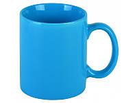 Чашка голубая глянцевая, 350 мл, ТМ МД