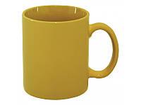 Чашка желтая глянцевая, 350 мл, ТМ МД