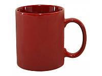 Чашка красная глянцевая, 350 мл, ТМ МД