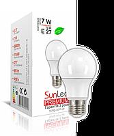 "LED лампа ""SunLed"" Е27 Premium 7Вт (аналог 75Вт)"