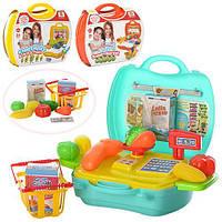 Магазин в чемод продукт посуд 22 дет см 24*22*11см MJX 8015-7016-6015 (48)