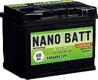 Аккумулятор NANO BATT  Standart - 60 +правый 540 А