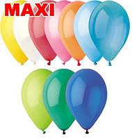 """Шарик GEMAR (Італія)  Пастель асорті """"МАКСІ""""15см.6"""" за 1000шт (1000) 1101-0462 &&"""