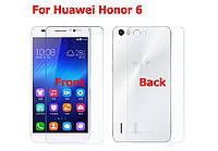 Защитная пленка пленки Huawei Honor 6 на обе стороны комплект