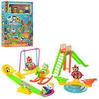 Набор игровой в кор OC детский площадка 4 фигурки 26*35*7см ZY-708 (48)