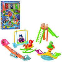 Набор игровой в кор PJM детский площадка 3 фигурки на батар 26*35*7см ZY-714 (48)