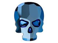 Стразы Сваровски Череп 2856 Crystal Metallic Blue