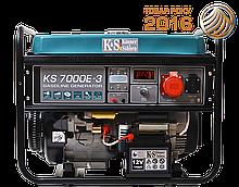 Бензиновый генератор KS 7000E-3