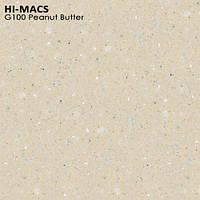 Кухонные столешницы из акрила LG Hi Macs Peanut Butter G100