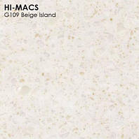 Кухонные столешницы из акрила LG Hi Macs Beige Island G109
