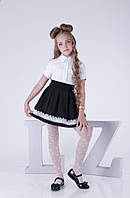 Черные модные школьные юбки в школу для девочек
