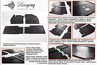 Комплект резиновых ковриков на  Corolla 2013+ (4шт)