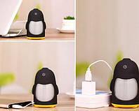 Увлажнитель воздуха в виде пингвина. Черный