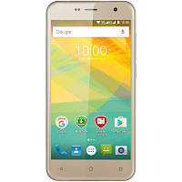 Мобильный телефон PRESTIGIO MultiPhone 3512 Muxe B3 DUO Gold (PSP3512DUOGOLD)