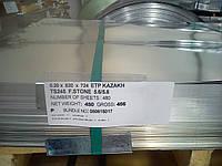 Жесть белая ЭЖК 0.20 х 820 х 724 мм покрытие 5.6/5.6