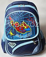 Школьный рюкзак для мальчиков Spider Man синий