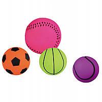 Мяч Trixie Toy Ball для собак резиновый, 3.5-4.5 см