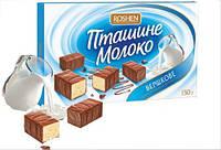 Конфеты в коробке «Птичье молоко Рошен» Сливочное 150 г.
