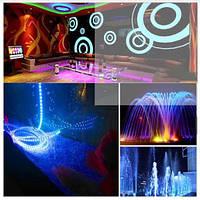 Подсветка разноцветная фонтана и бассейна герметичная в комплекте с блоком питания пять метров длинной