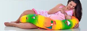 Дизайнерські подушки для вагітних та немовлят