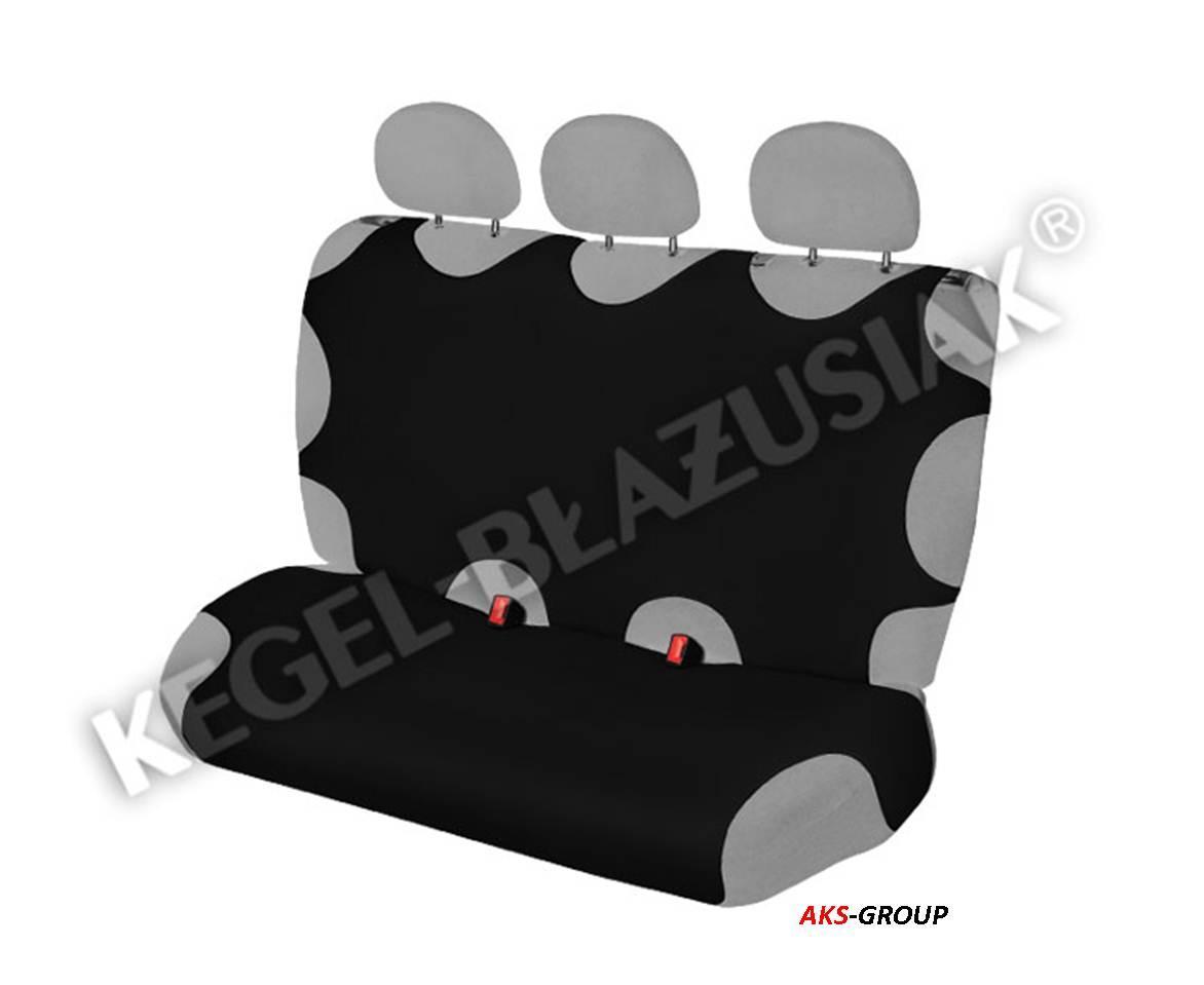 Чехол майка Kegel Basic  A на заднее сидение черная синтетическая
