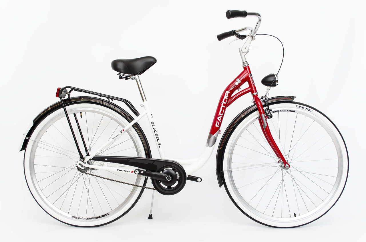 Міський велосипед Faktor Exell 28 Red Польща