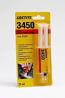 Эпоксидный клей Loctite 3450 (Локтайт 3450) - эпоксидный состав для металлов, серый, 24мл