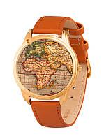 Часы наручные AndyWatch Карта мира арт. AW 023-4