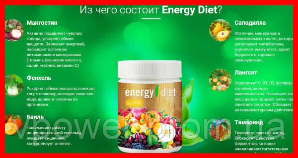 """Энерджи Диет- Питание для похудения - Интернет магазин """"Vpower"""" в Белой Церкви"""