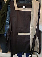 Фартук-накидка Портофино, двухцветный, ткань саржа