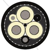 KGE-HL 6 kV 3x120+1x35+1x10
