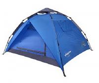 Туристическая/кемпинговая палатка трехместная King Cam Luca , двухслойная 3-местная