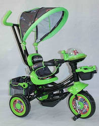 Велосипед трехколесный Azimut Panda BC-16S колёса пена