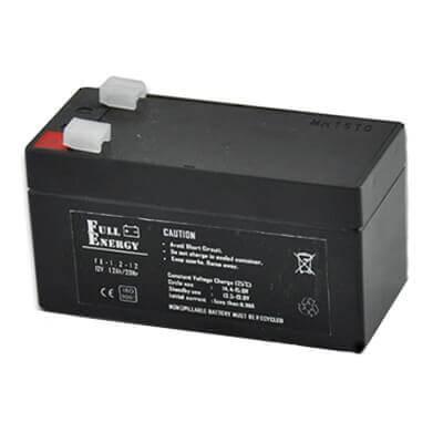 Свинцово-кислотный аккумулятор 1,2 Ач Full Energy - Контроль и Безопасность в Днепре