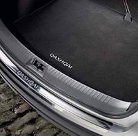 Накладка на задний бампер для Nissan Qashqai Новая Оригинальная