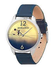 Часы наручные AndyWatch Мальчик на луне арт. AW 036-5