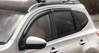 Дефлекторы ,ветрокики  боковых окон  для Nissan Qashqai Новые Оригинальные