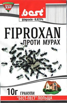 Инсектицид Фипроксан (10 г) — готовые гранулы для борьбы со всеми видами муравьев в помещении и на грунте, фото 2