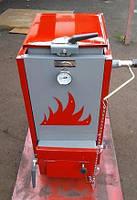 """Шахтный твердотопливный котел """"Холмова"""" ЭКО Комфорт- 10 кВт. Длительного горения."""