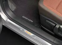 Накладки на пороги для Nissan Qashqai Новые Оригинальные