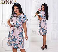 Платье женское батал ат1145 Дени, фото 1