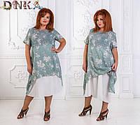 Платье женское батал д1274 Дени, фото 1